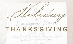 """Christina Leigh Events """"Holiday: Thanksgiving"""" Pinterest Board Cover"""