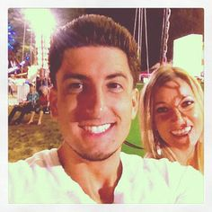 Jesse and Jeana at the carnival.