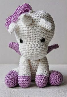 Amigurumi Unicorn--for aurora for Christmas Katherine.