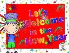 Lets Welcome in the New Year from Creations by Mrs Mouse on TeachersNotebook.com -  (6 pages)  - This printable reinforces the months of the year using the theme of New Year's Day.