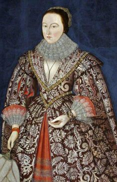 1615 British (English) School - Portrait of a Lady of the Morgan Family Historical Costume, Historical Clothing, Historical Dress, 17th Century Fashion, Renaissance Portraits, Renaissance Costume, School Portraits, Glamour, Art Uk