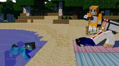 Stampy , supercheche ,and squid