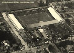 White Hart Lane 1923