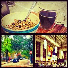 We asked readers to send in photos from their phones about how they start their morning routines. Here is one from Instagram user @luiscrespo215