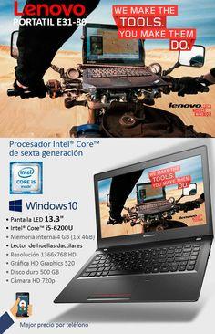 Oferta portátil Lenovo con Intel Core de sexta generación