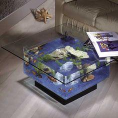 A table #aquarium!?! I want one!