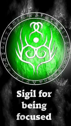"thistlepinewitch said: Hey! I love your sigil designs. Could I request a sigil for ""I am focused"" or ""I am motivated and organized"" ? Answer: Sigil for being focused Sigil for being motivated, and..."