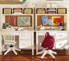 Catalina Storage Desk & Large Hutch  | Pottery Barn Kids Australia