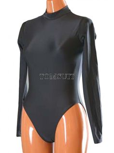 TOMSUIT Long Sleeve Lycra Spandex Swimwear Dancewear Leotard Costumes