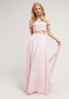 Luxuar Fashion - SET - Vestido de fiesta - rosa