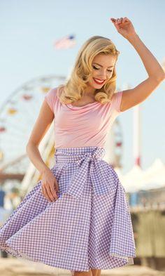 'Whirlwind' Skirt, retro style