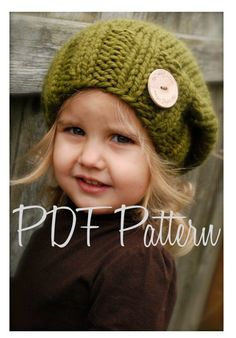 da9f7a15f62 KNITTING PATTERN - Sydnie Slouchy (Toddler