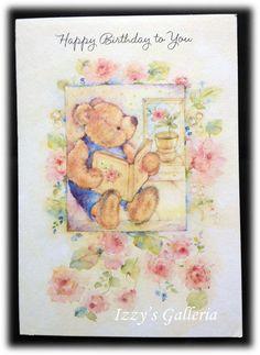 "Mary Hamilton Vintage Hallmark Birthday Card: "" Happy Birthday to You"""