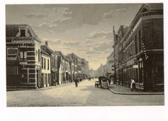 Boschstraat rond 1900