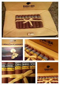 Cohiba Cigar Box Cake by D'lish Cupcake Lounge