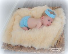 df57013b917 Baby Crown Diaper Cover Baby Boy Prince Girl Princess Crochet   canyonviewcrochet www.CanyonViewCrochet.etsy.com