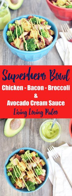 Superhero Bowls from Living Loving Paleo! | paleo, Whole30, gluten-free, grain-free and dairy-free | This bowl is super simple to make, perfect for meal prep, and loaded with everything you need to tackle your day!