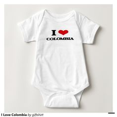 I Love Colombia Tshirts
