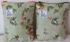 Zipper pouch/toiletry bag made of old by ReDesignandReCycled, kr80.00