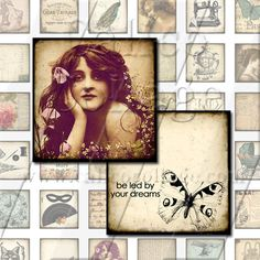 Even More Eclectic Dreams  Digital Collage Sheet  by calicocollage, $3.75