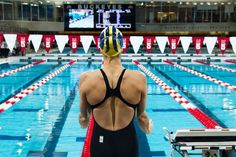 """Guest author Katlyn Haycock, strength coach at the University of Michigan, unpacks the components of good """"dryland"""" strength training program for swimmers. A must-read for any swimmer, swim coach, or Michael Phelps fan. Swimming Drills, Competitive Swimming, Swimming Tips, Swimming Workouts, Swimming Pictures, Usa Swimming, Pool Workout, Swimming Sport, Synchronized Swimming"""