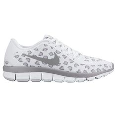 official photos 3374e 2cfa8 Women s Nike Free 5.0 V4 Print Running Shoes - 695168 100   Finish Line  Cheetah Nikes