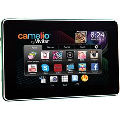 Sakar CAM-430 CAMELIO 2 MINI 4.3IN TABLET. Manufacturer/Supplier: Sakar International, Inc Marketing Information: The Camellia Mini is a full-functioning, Google-Certified Android device. Add a Personality Pack and transform the tablet into a licensed experience. The Personality Pack contains a themed bumper case and cleaning cloth, plus an app card that fully transforms the Camellia Mini environment to that of the character. The characters consist of Hello Kitty, Barbie, Monster High…