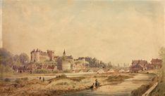 LE CHÂTEAU DE PAU CÔTÉ SUD © Château de Pau 1861