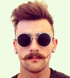 Nathan -- handlebar mustache