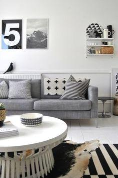 sofa retro cinza - Pesquisa Google