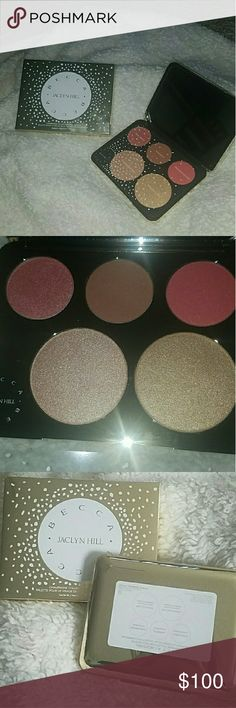 Jaclyn Hill Champagne Face Palette Brand new Limited edition BECCA x Jaclyn Hill Champagne  Face Palette BECCA Makeup Luminizer
