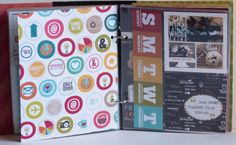 30 Days of Thankful SN@P! Binder created by design team member Rebecca Keppel using our Daily Grind collection