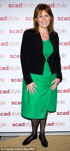 At an event in 2010, the Duchess of York looked frumpy and full-figured