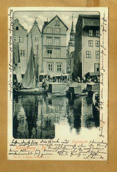 Königsberg  O/Pr.  1901 Romantischer Winkel in der Altstadt