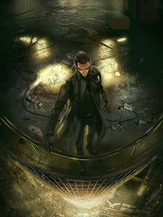 Adam Jensen, Deus Ex Mankind Divided All Video Games, Video Game Characters, Video Game Art, Cyberpunk Rpg, Cyberpunk Character, Deus Ex Universe, Deus Ex Human, Deus Ex Mankind Divided, Punk Genres