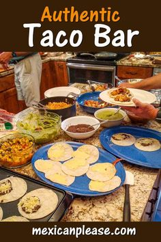 Got a big crew to feed? This Taco Bar for 20 has something for everyone and will let your peeps build their masterpiece one taco at a time. I've made versions of this Taco Bar regularly for the past few years and I finally took some pics of it! It's always a keeper and it will give your friends and family a meal to remember.