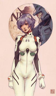 Rei Ayanami - Neon Genesis Evangelion ↩☾それはすぐに私は行くべきである。 ∑(O_O;) ☕ upload is galaxy note3/2016.03.15 with ☯''地獄のテロリスト''☯ (о゚д゚о)♂