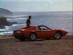 Love the man & his car too!   Magnum PI's Ferrari 308 GTS   @www.torquenews.com
