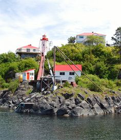 Located on the summit of San Rafael Island, at the southeast tip of Nootka Island. Lighthouses, British Columbia, Sailing, Around The Worlds, Canada, San, History, Pictures, Candle