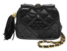 Chanel Black Quilted Lambskin Kiss Lock Evening Bag http://fashionbagarea.blogspot.com/  #chanel #handbags #bags #fashion women chnael 2015 bags are under $159