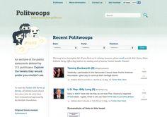 Twitter ferme l'accès à Politwoops, le site qui surveille les politiques sur Twitter