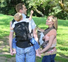 Onya Baby Carrier, the only carrier that turns into a seat for baby!!