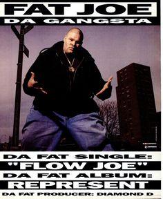 Fat Joe - Represent  (Vibe September 1993)