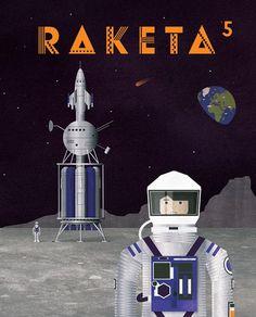RAKETA č. 05 / Vesmír -  LABShop - Labyrint.NET - internetový obchod