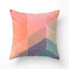 2/3 Pastel Pillow by lumillo on Etsy, $40.00