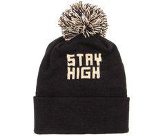 51ad53a8d7e Don t Die - Stay High    Pom Beanie    Hat