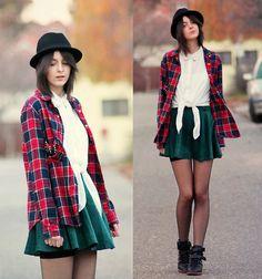 Chic Wish Skirt, Primark Shirt, Choies Shirt, H&M Hat