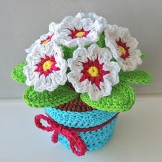 Embroidery for Beginners & Embroidery Stitches & Embroidery Patterns & Embroidery Funny & Machine Embroidery Crochet Cactus, Crochet Fox, Cute Crochet, Beautiful Crochet, Crochet Flower Patterns, Crochet Flowers, Embroidery Patterns, Crochet Bouquet, Crochet Dragon