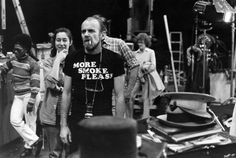 """criterioncollection: """" Bob Fosse really perfecting behind the scenes style on the set of ALL THAT JAZZ """" Film Dance, Bob Fosse, The Criterion Collection, Robert Louis, Scene Photo, Well Dressed Men, Film Director, Screenwriting, Hot Boys"""