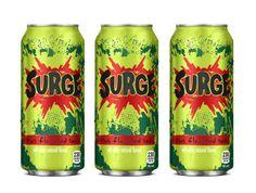 Developed brand name Surge for Coca-Cola